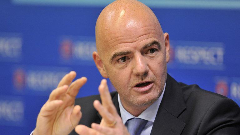 """Джанни Инфантино: """"У России и Катара есть реальное желание сделать все для футбола, чемпионата мира и ФИФА"""""""