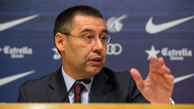 Признание президента Барселоны записали на скрытую камеру