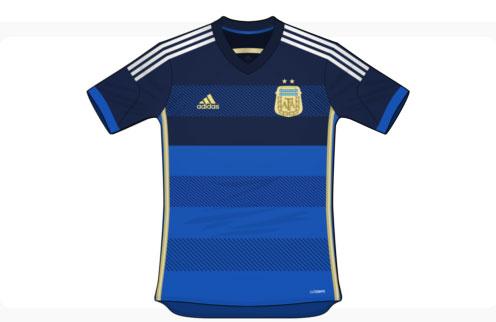 e490e50d8989 СМИ стал известен дизайн выездной экипировки сборной Аргентины на матчи ЧМ- 2014