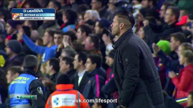барселона атлетико гол месси видео: