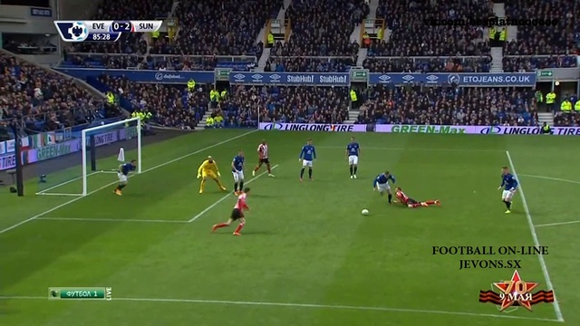 English premier league - matchday 36: everton v sunderland 09 april 2015 in sd 400p full match download language